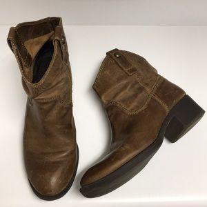 Gianni Bini Short Western Boots
